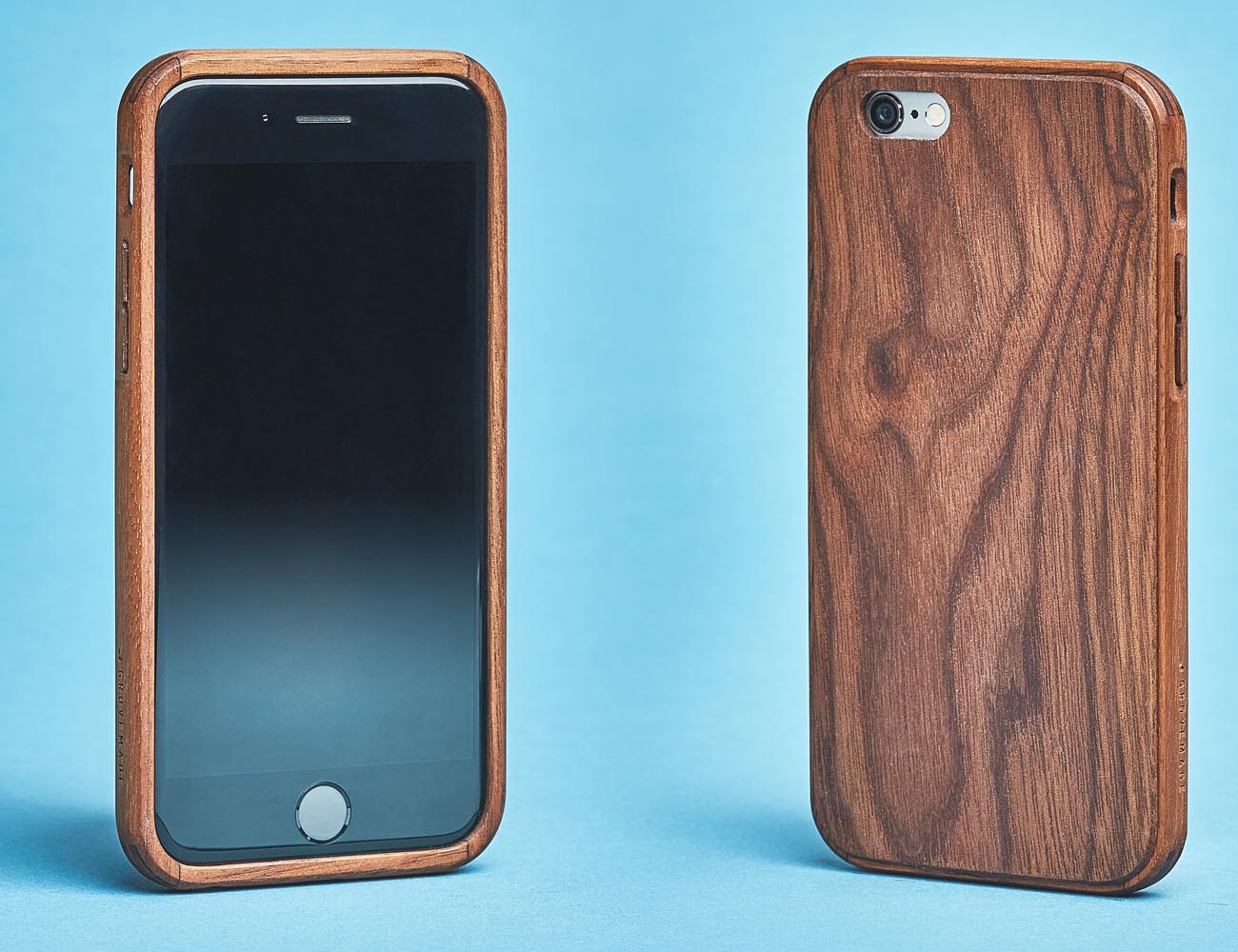 iPhone 6/6s Walnut Real Wood Slim Case
