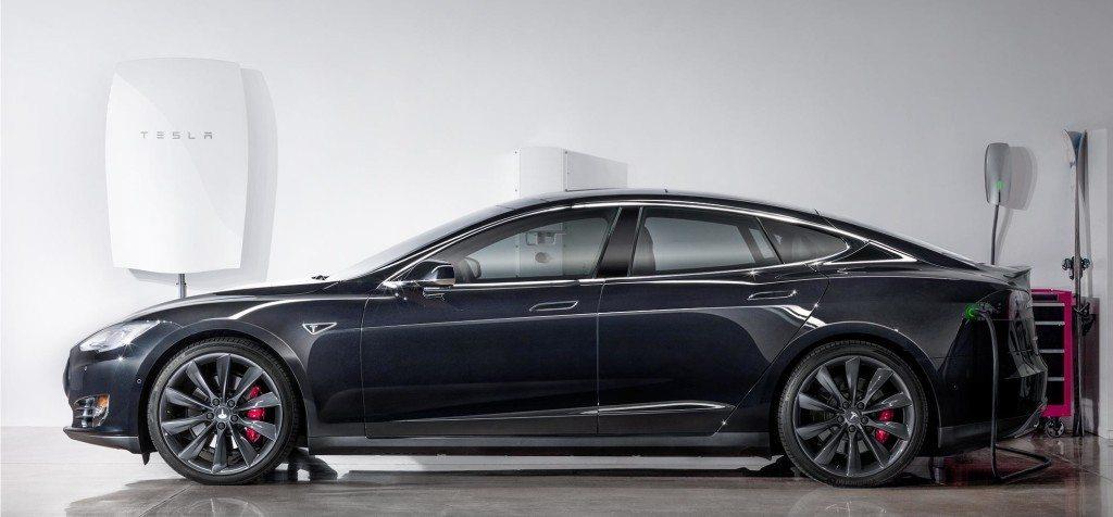 Powerall with Tesla