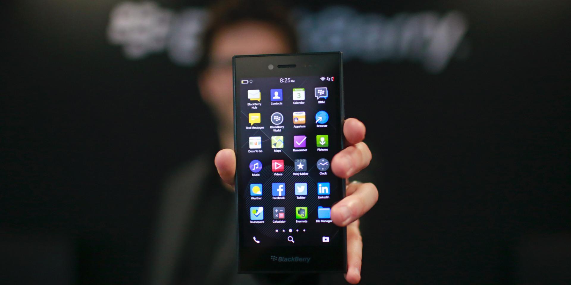 BlackBerry Leap: A New Take on a Familiar Shape