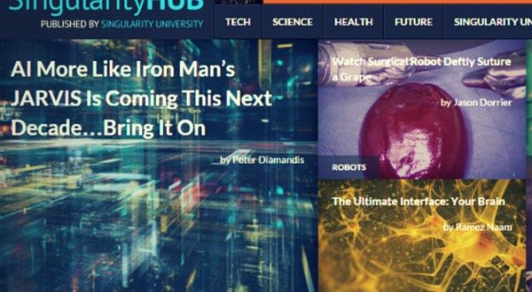 Singularity HUB – Automatically Updated Tech News From 41 Sources Under One Roof