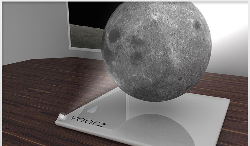vaarz – The First Night Lamp similar to the Moon