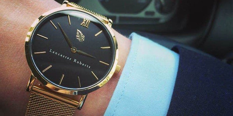 Lancaster Roberts' First Luxury Watch
