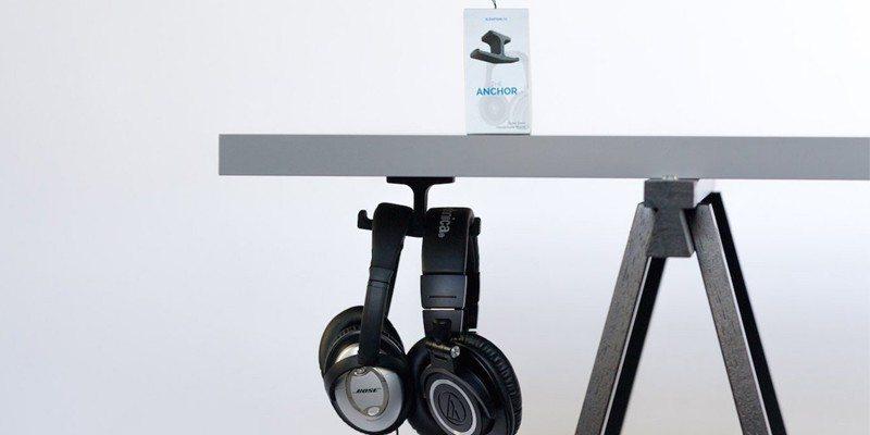 Anchor – The Under Desk Headphone Mount