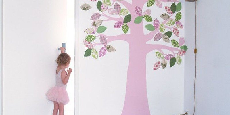 April Tree Wall Decal