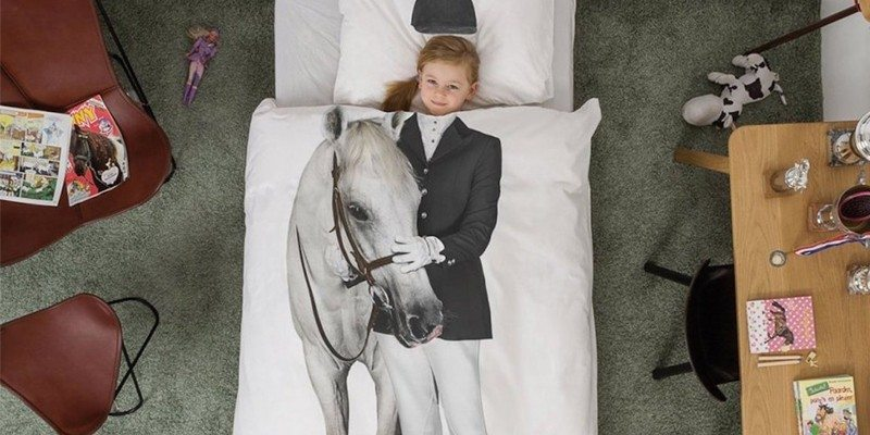 Horse Duvet Set by Snurk