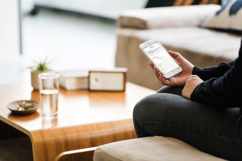 Awair smart air monitor app
