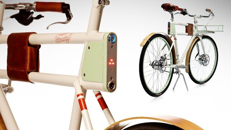 Faraday Porteur brake lights