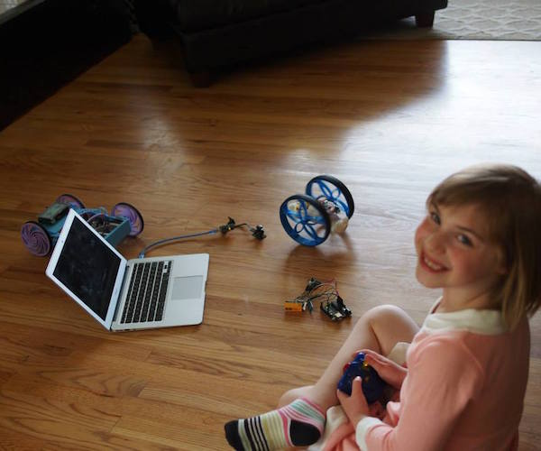 3D Printed Educational Robotic Platform Roby