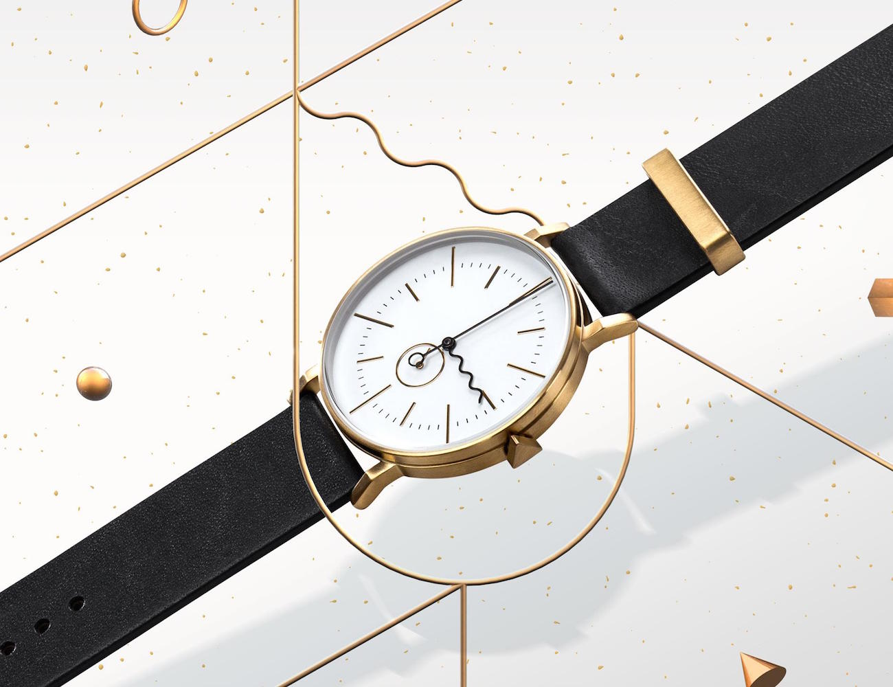 AARk+Collective+Tide+Gold+Watch