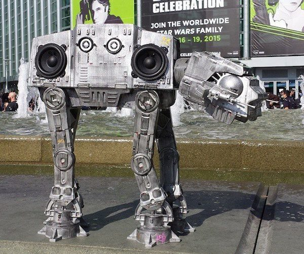 AT-BT Boombox – Bring Back the Star Wars Craze