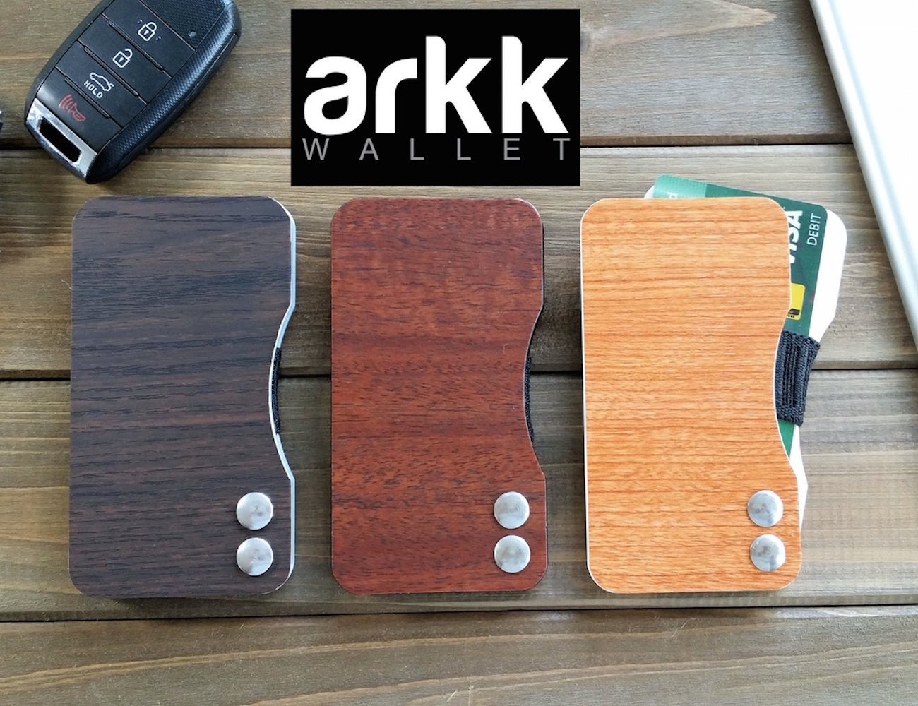 Arkk+Wallet+%26%238211%3B+The+Sleekest+RFID+Blocking+Minimalist+Wallet+In+The+World