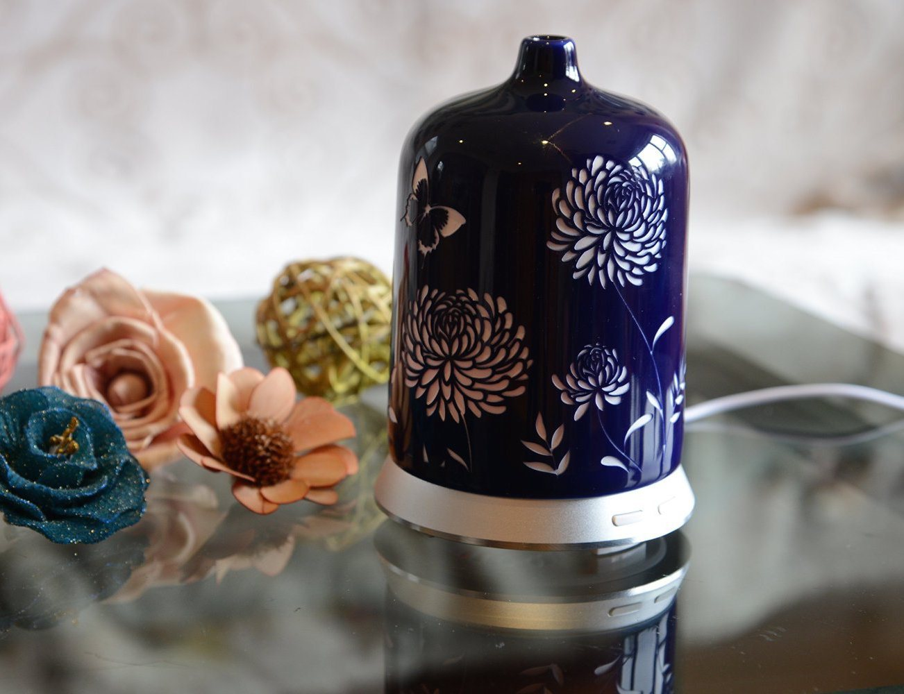 """<em class=""""algolia-search-highlight"""">Aromather</em>apy Essential Oil Diffuser by Smiley Daisy®"""