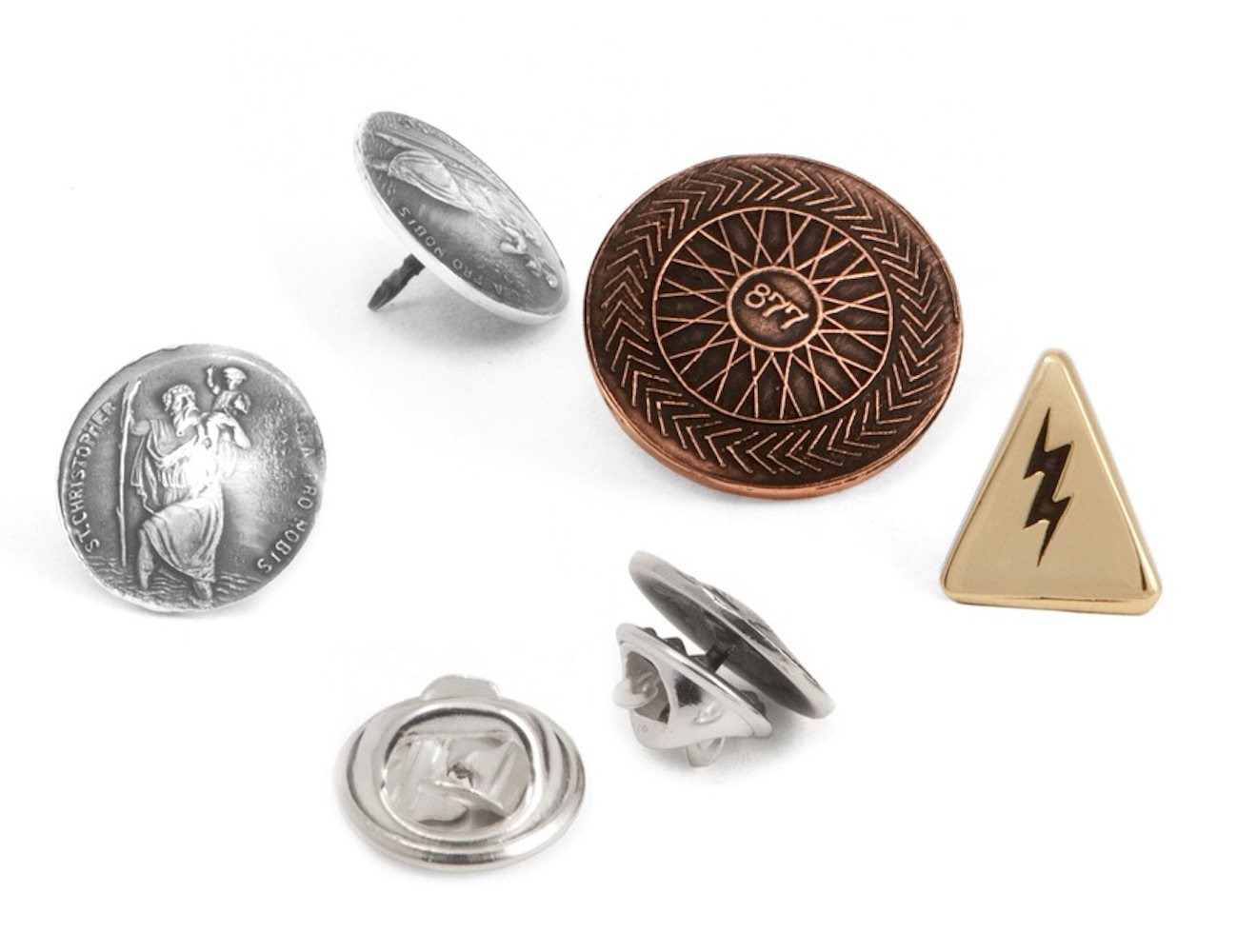 Autobahn Pin Set by 877 – Handmade Pins for the Automotive Enthusiast
