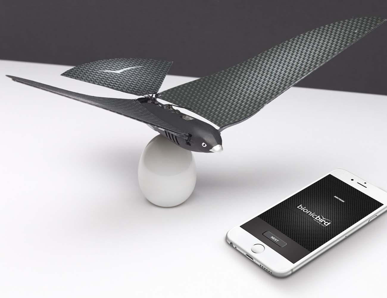 Bionic Bird – Smartphone Controlled Robotic Bird