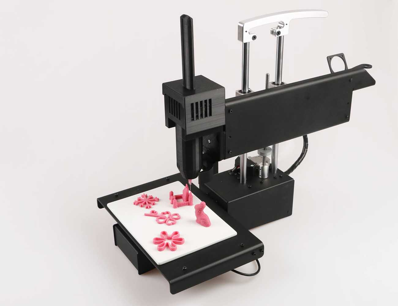 Bocusini – World's First Plug & Play 3D Food Printing System