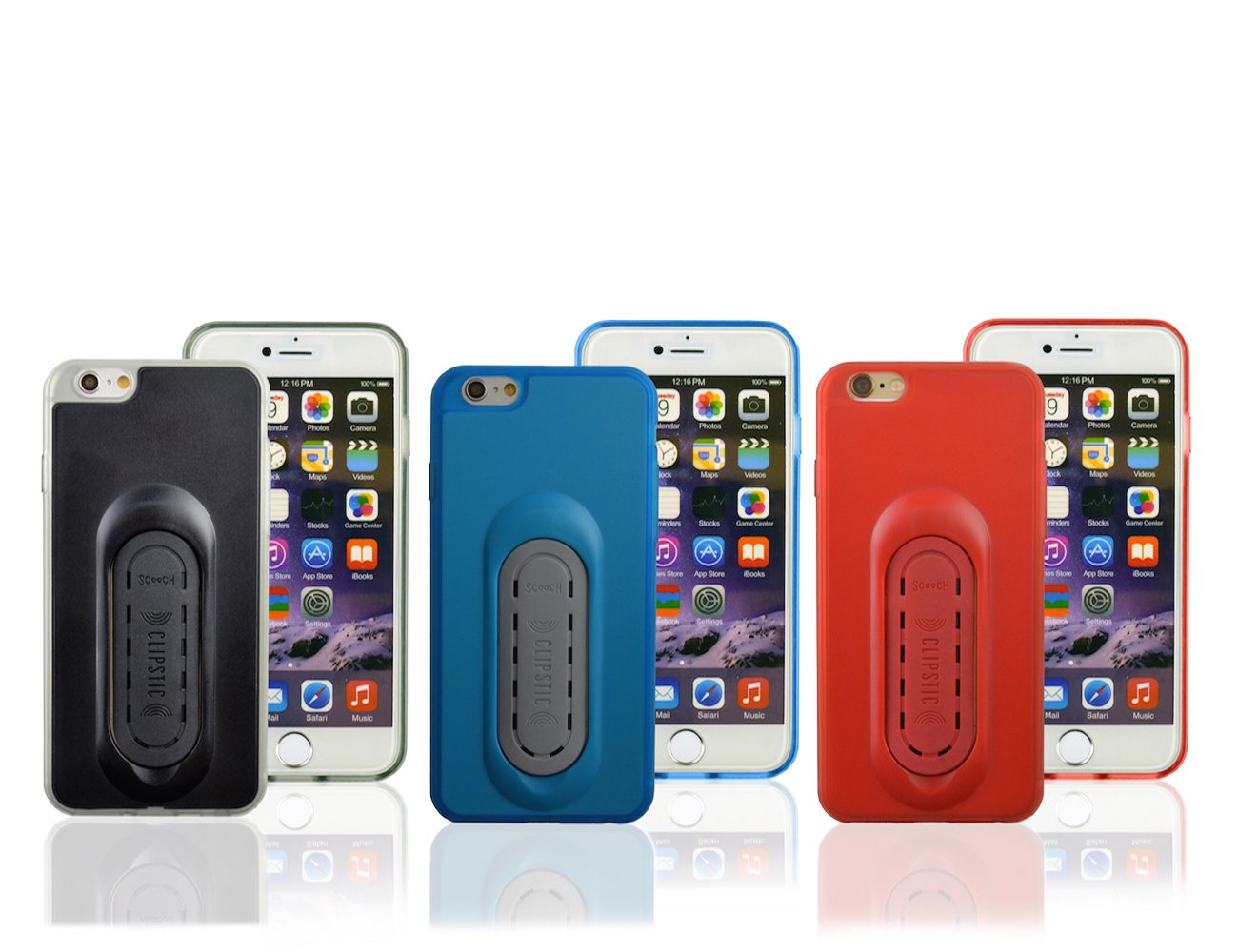 Clipstic 3-in-1 Mount Case for iPhone 6 by Scooch