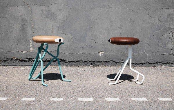 Compatriot Stool – Extra Chairs Plus a Unique Retro Art