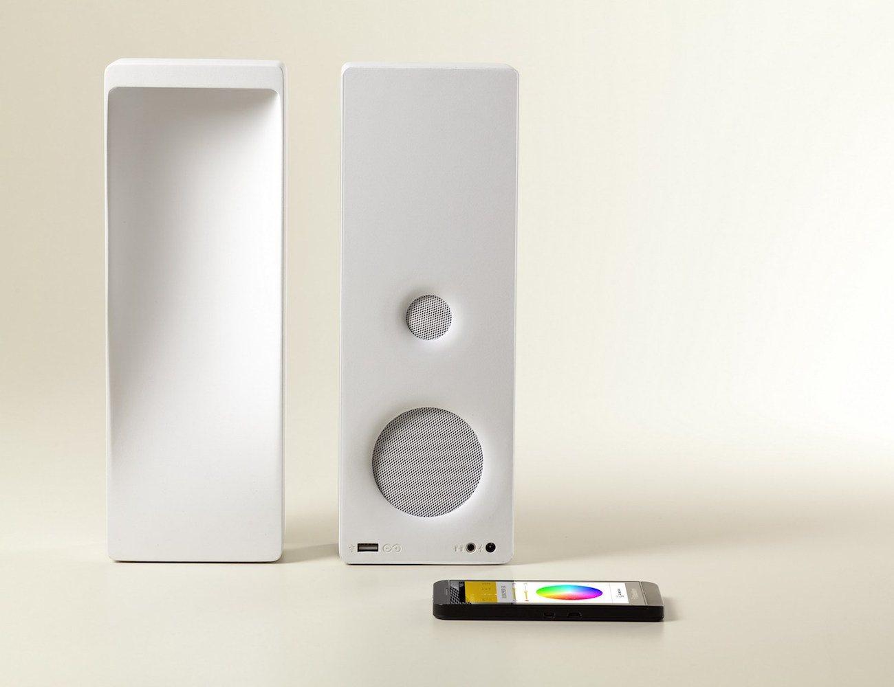Cromatica – Bluetooth Speaker Lamp
