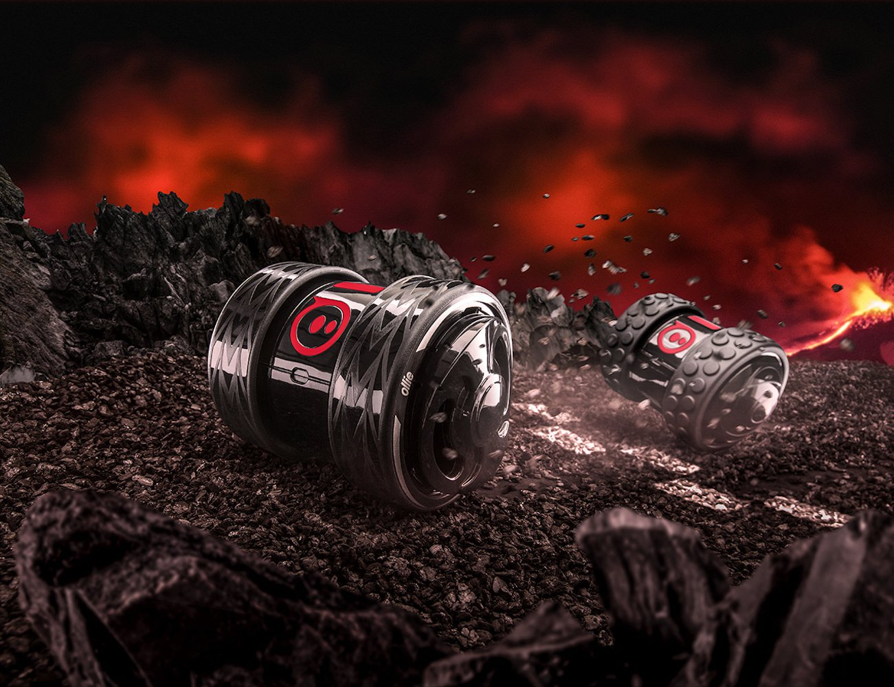 Darkside Ollie by Sphero – Power Packed Robot For App Enabled Racing