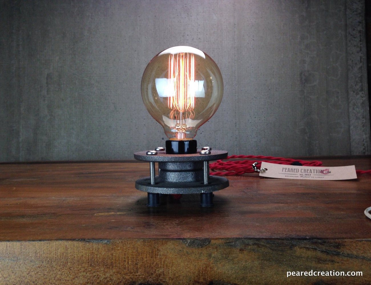 Edison Bulb Light Minimalist Lamp