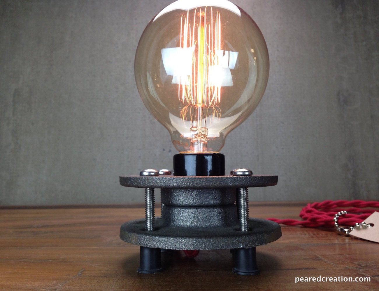 edison bulb light minimalist lamp gadget flow. Black Bedroom Furniture Sets. Home Design Ideas