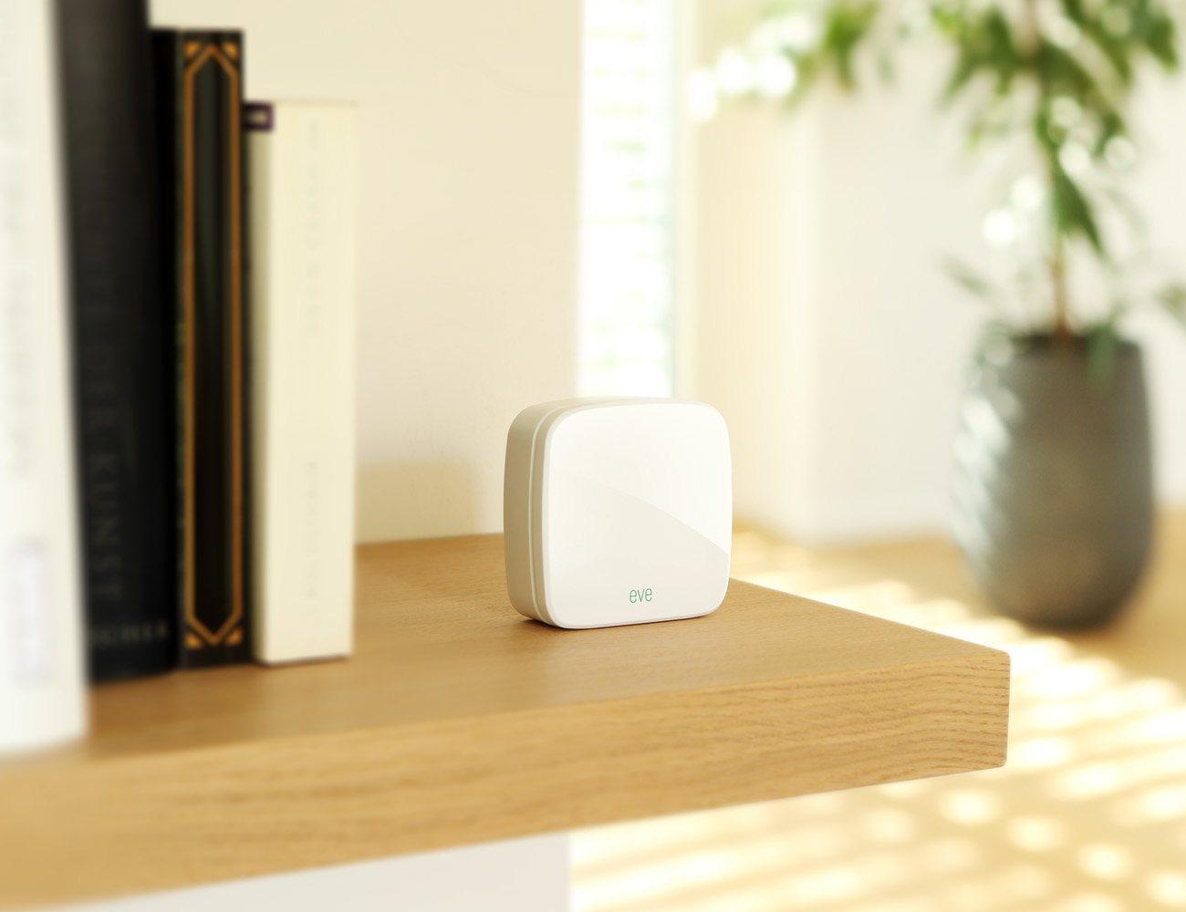 Elgato Eve Room – Wireless Indoor Sensor with Apple HomeKit Technology