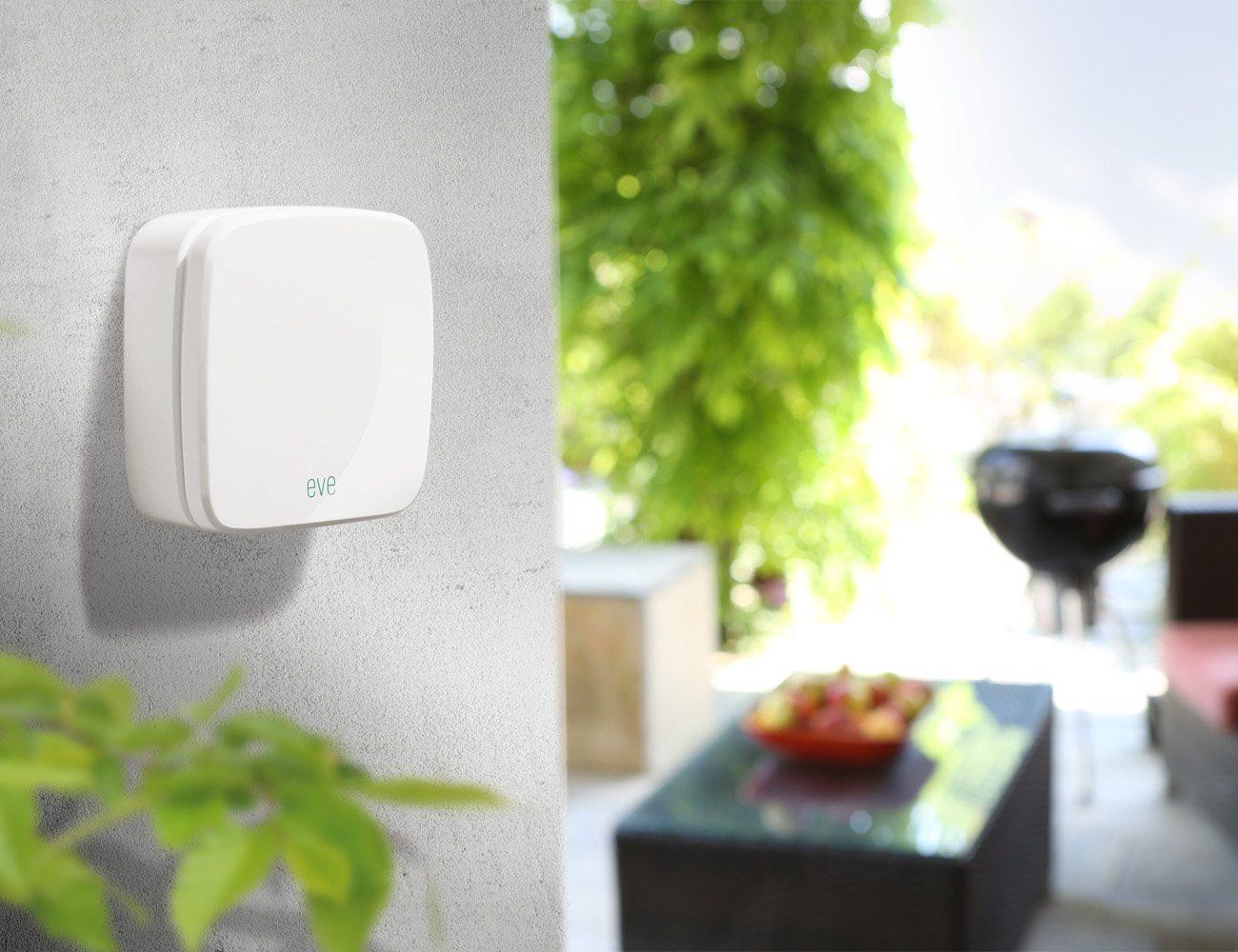 Elgato Eve Weather – Wireless Outdoor Sensor with Apple HomeKit Technology