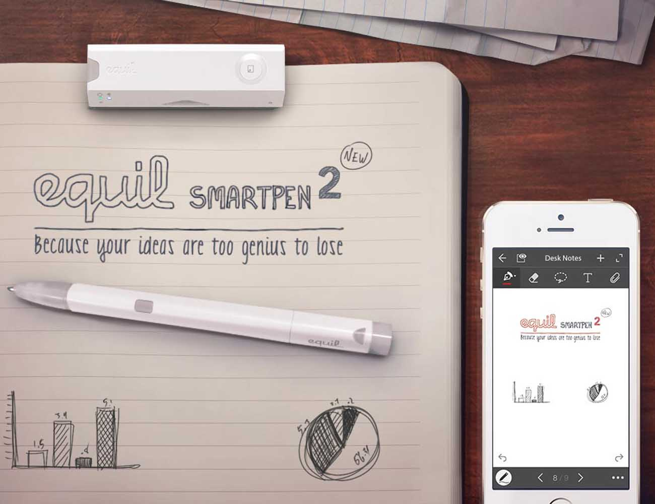 Equil Smartpen 2 – Transfer Handwritten Notes to the Cloud