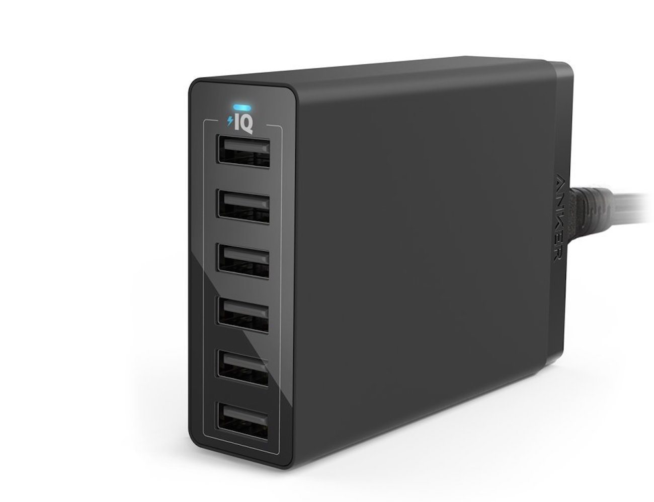Family-Sized Desktop 6-Port USB Charger by Anker