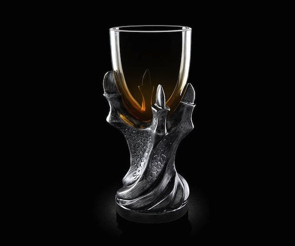 Remember the chalice the one Maester Cressen and Melisandre drank from in the Chamber of the Painted Table at Dragonstone?