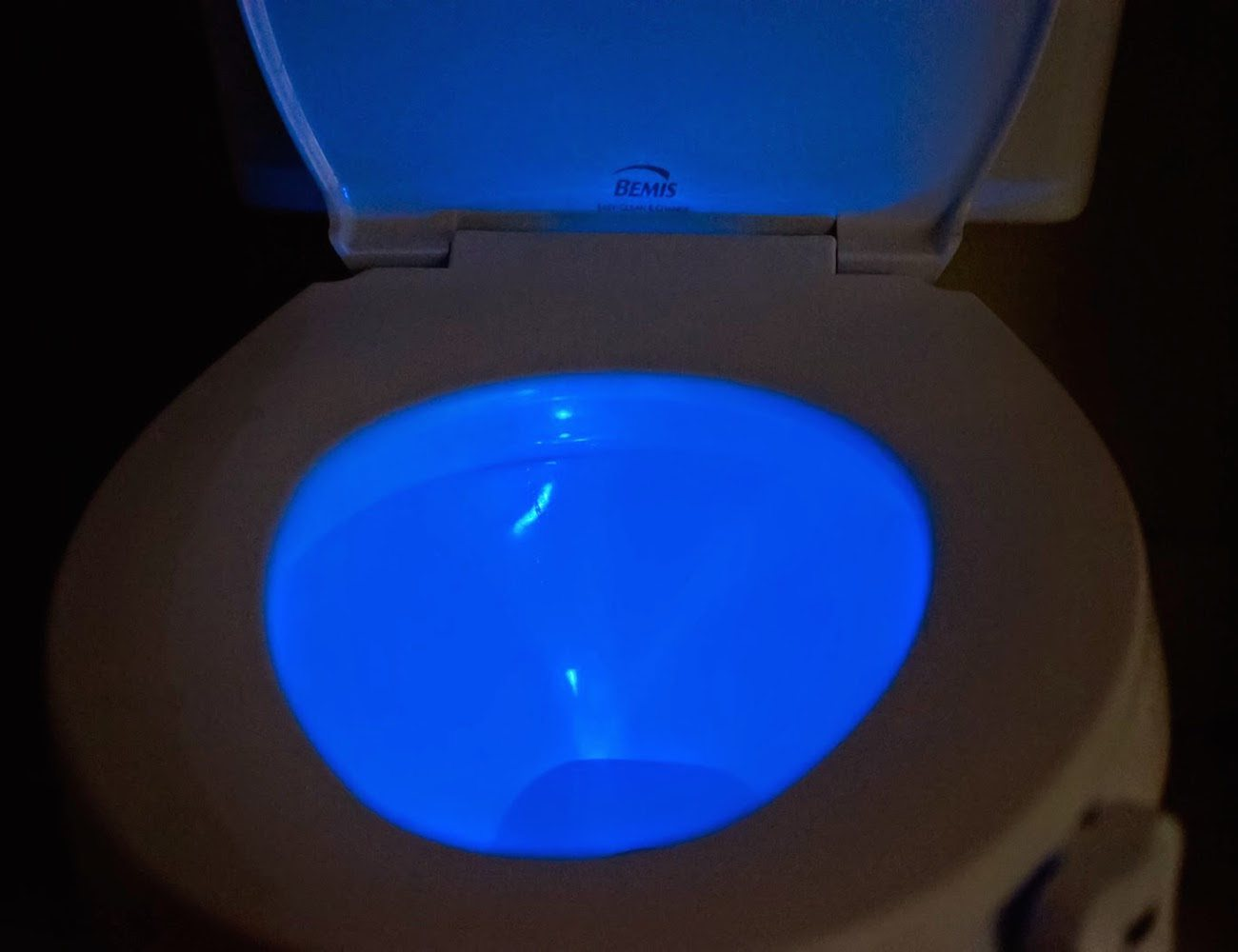Glowbowl Motion Activated Night Light For Your Toilet