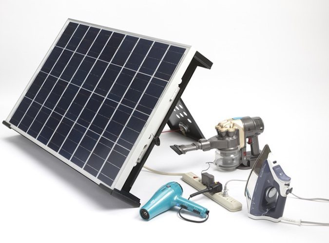 Golar Fully Portable Solar Panel On The Go