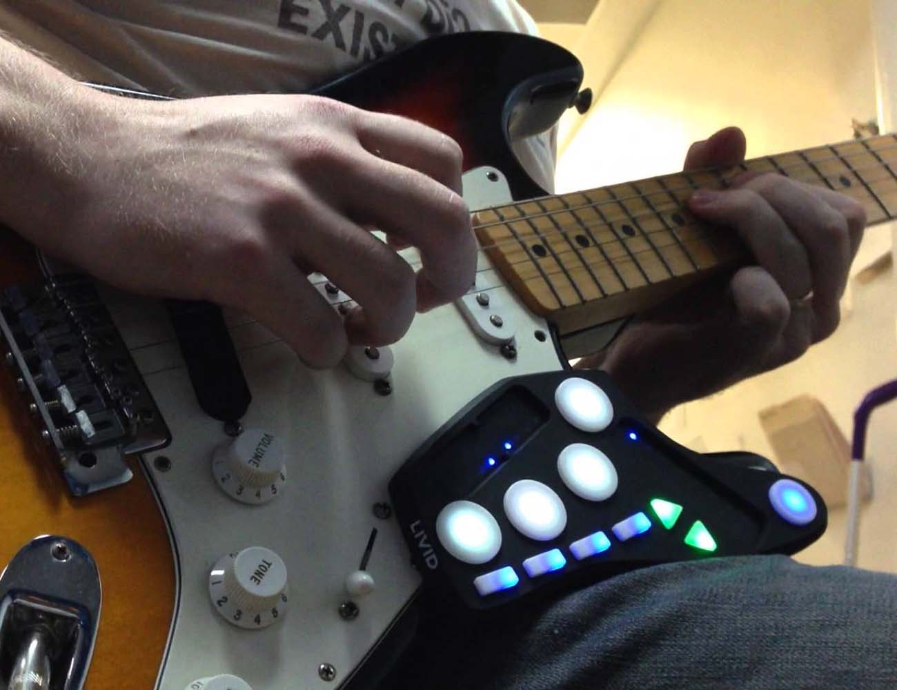 Guitar Wing – Wireless Guitar Controller by Livid Instruments