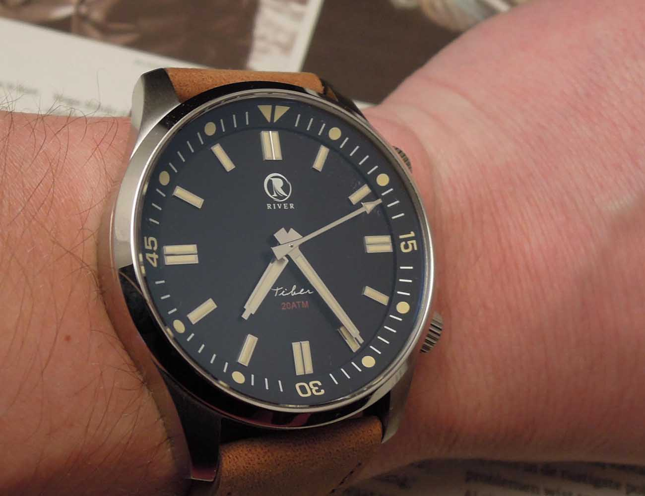 Introducing The River Watch Company Tiber Diver