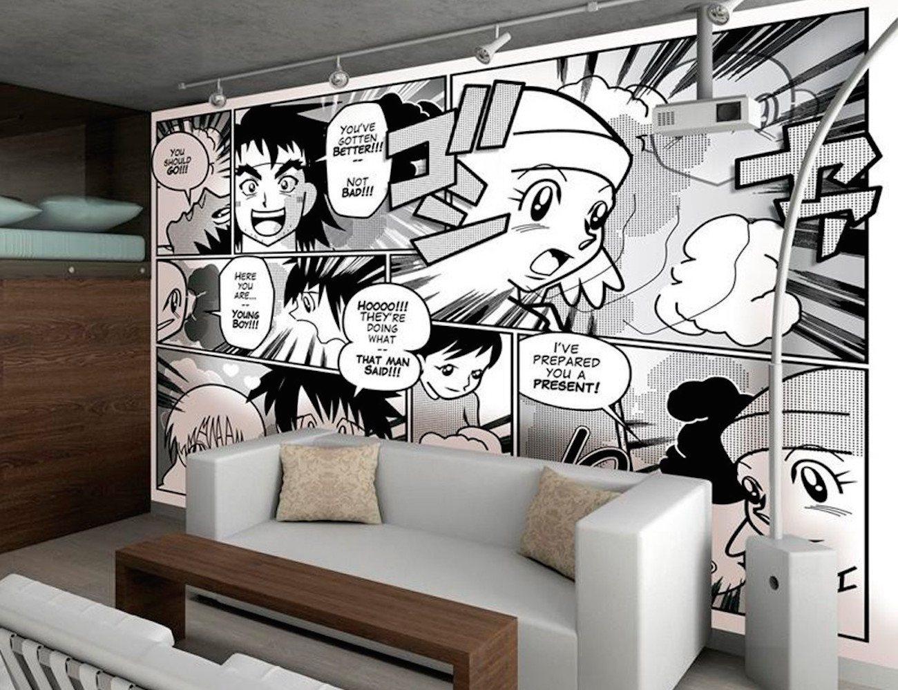 Japanese Anime Mural