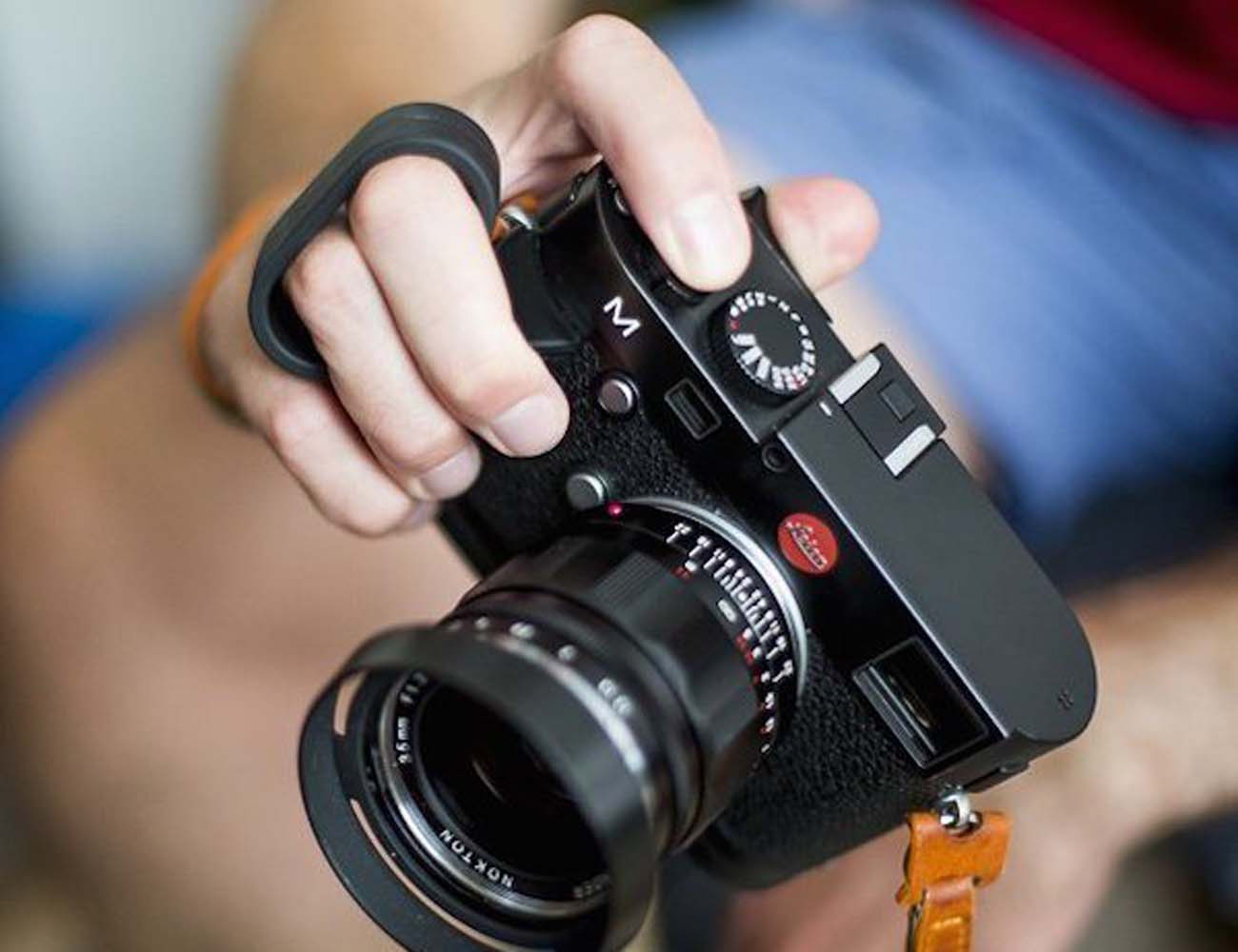 Leica M Finger Loop For Photographers