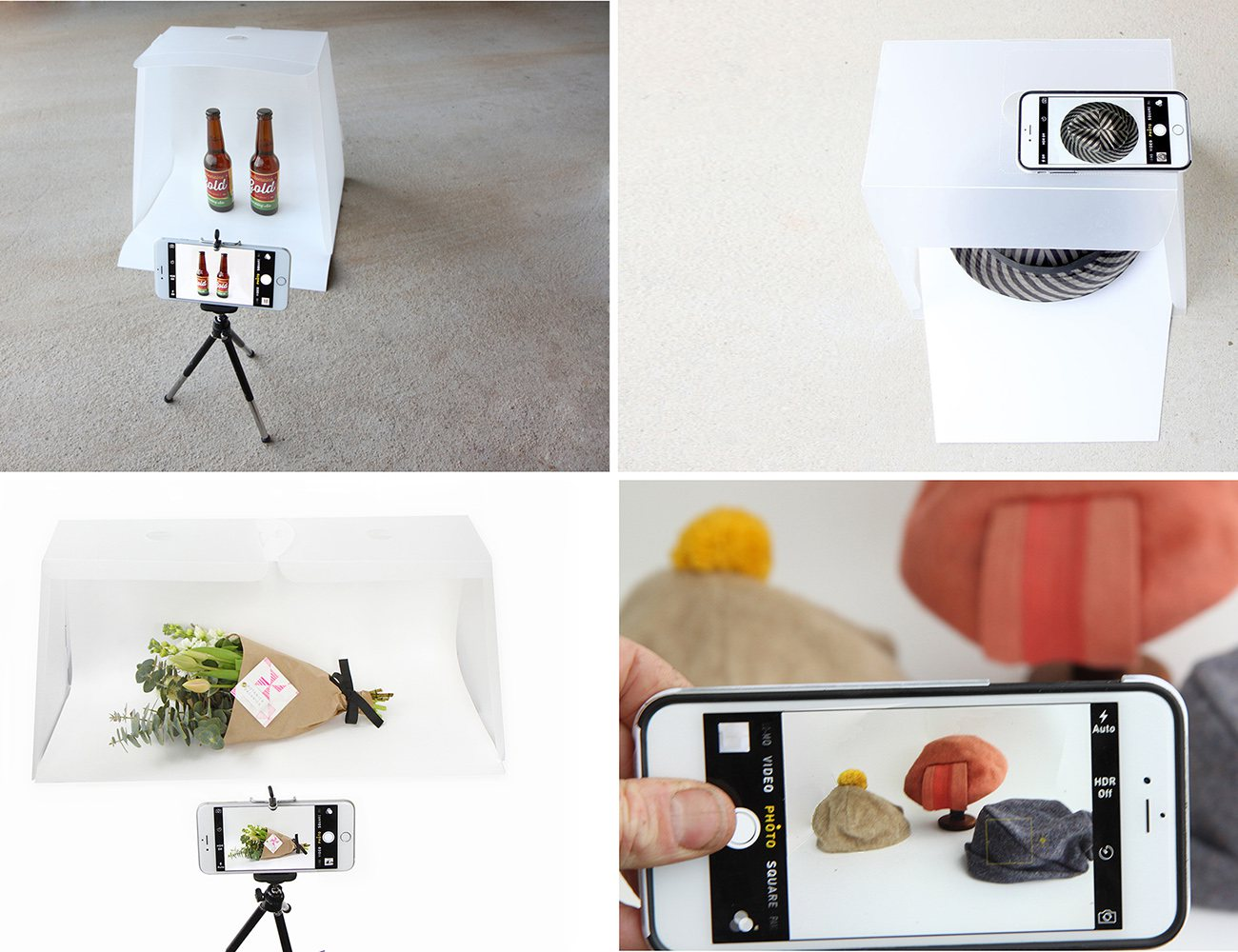 LightcasePro Photo Studio for you Smartphone or DSLR