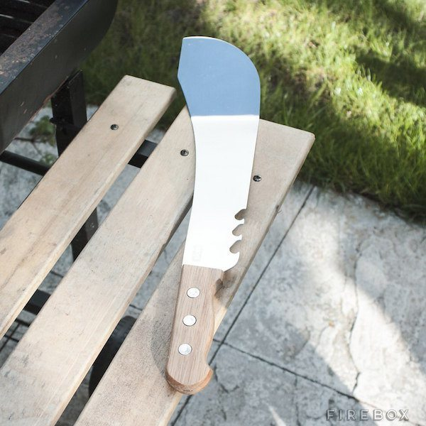 Machete Spatula – With 3 Built In Bottle Openers