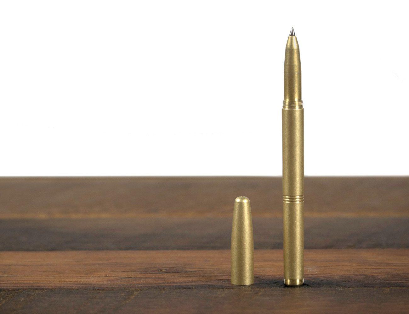 Machine Era Pen- Solid Brass