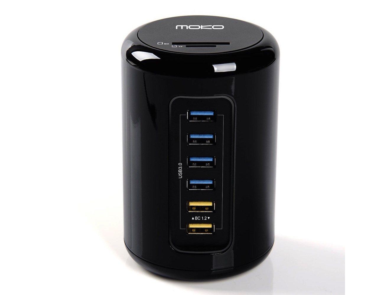 MoKo – 6-Port High-speed USB 3.0 Hub