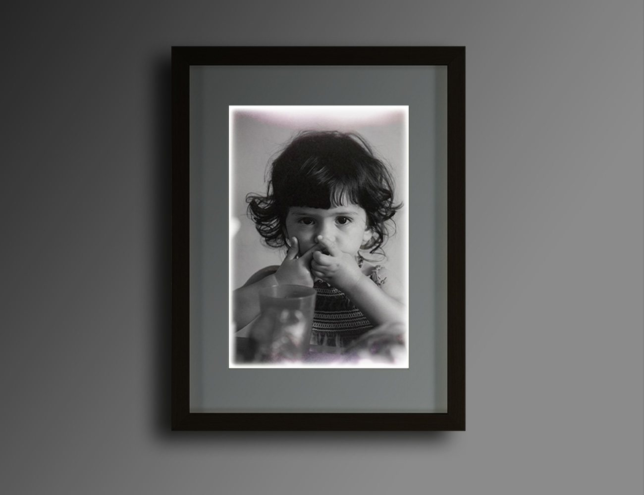 Motion-Activated, Illuminated Picture Frame