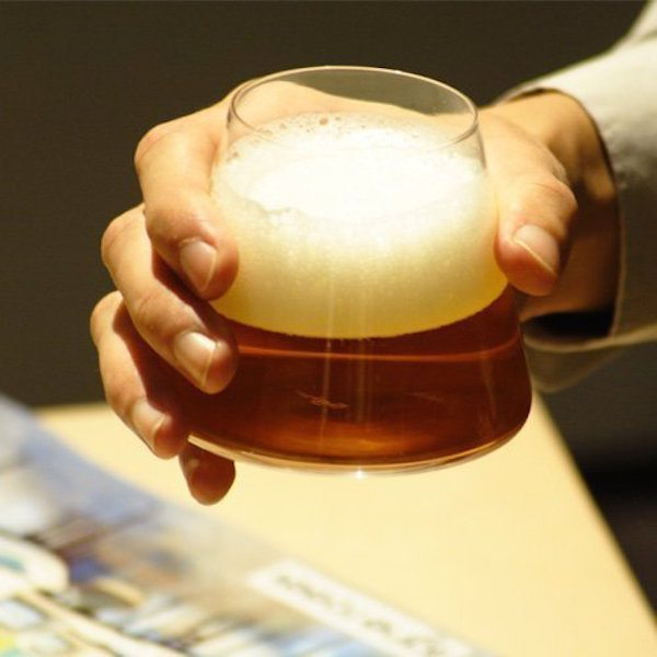 Mount Fuji Beer Glass