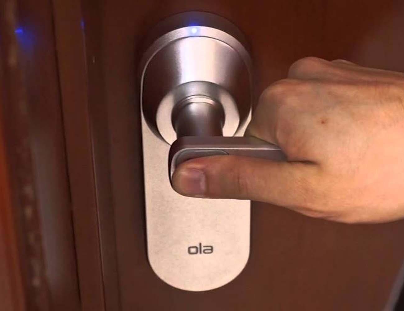 Ola Fingerprint Smart Lock u2013 Open The Door To The Future & Ola Fingerprint Smart Lock - Open The Door To The Future » Gadget Flow