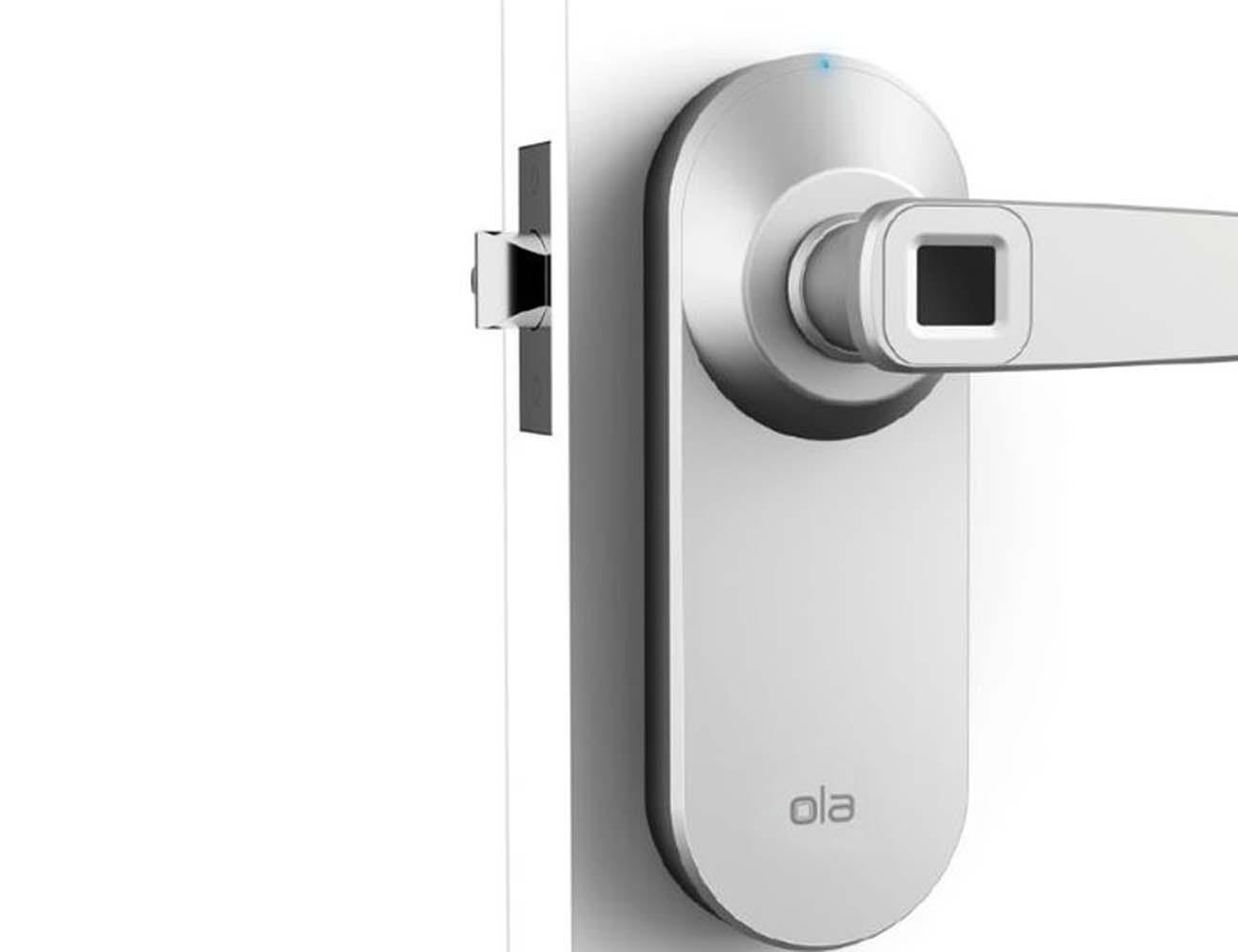 Ola Fingerprint Smart Lock Open The Door To The Future Gadget Flow