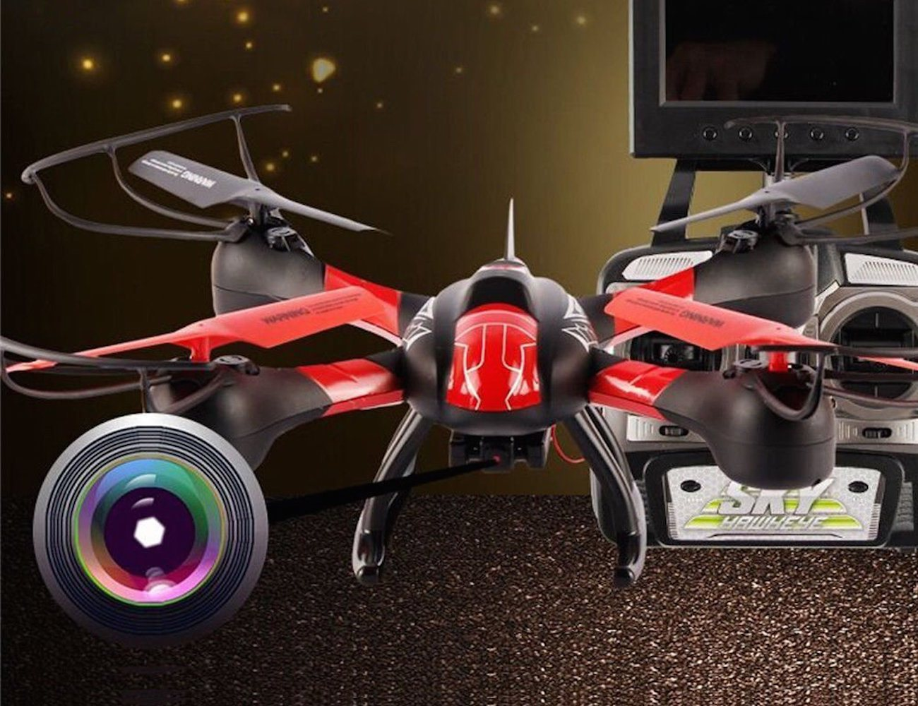 Ology® Drone – With First Person View FPV Live Video Feed