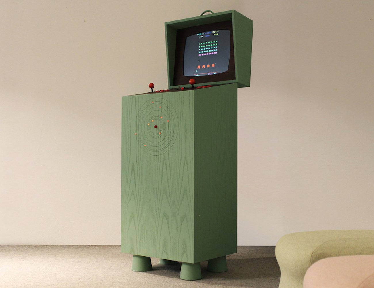 Arcade Cabinet Dimensions Pixelkabinett 42 Handmade Full Size Coin Up Arcade Cabinet