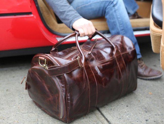 Saintly Bags – Customizable Leather Weekenders
