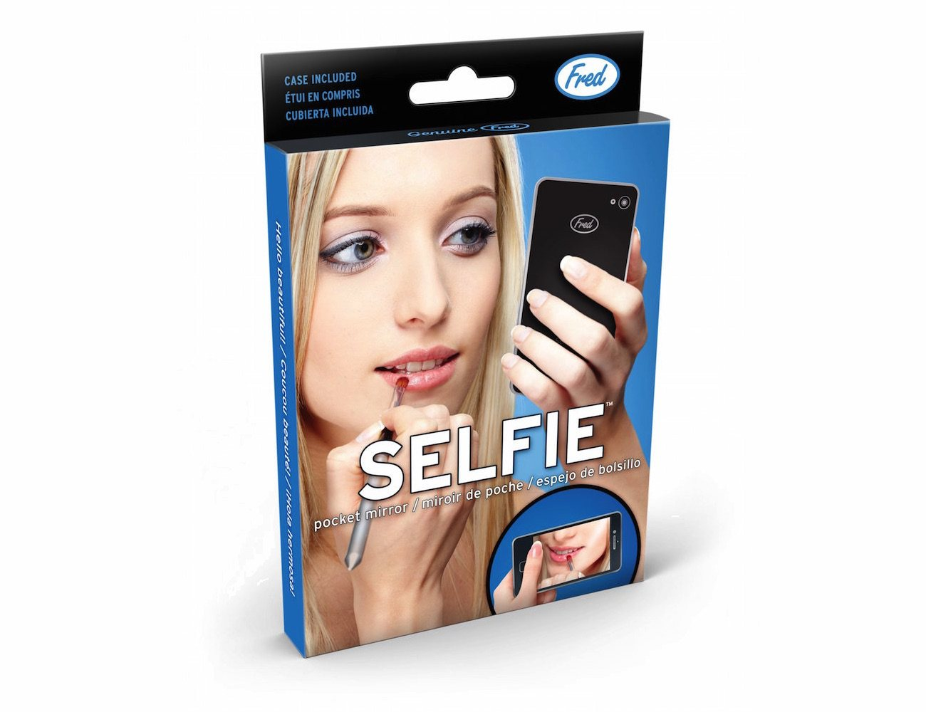 Selfie Pocket Mirror – Resembling a Smartphone