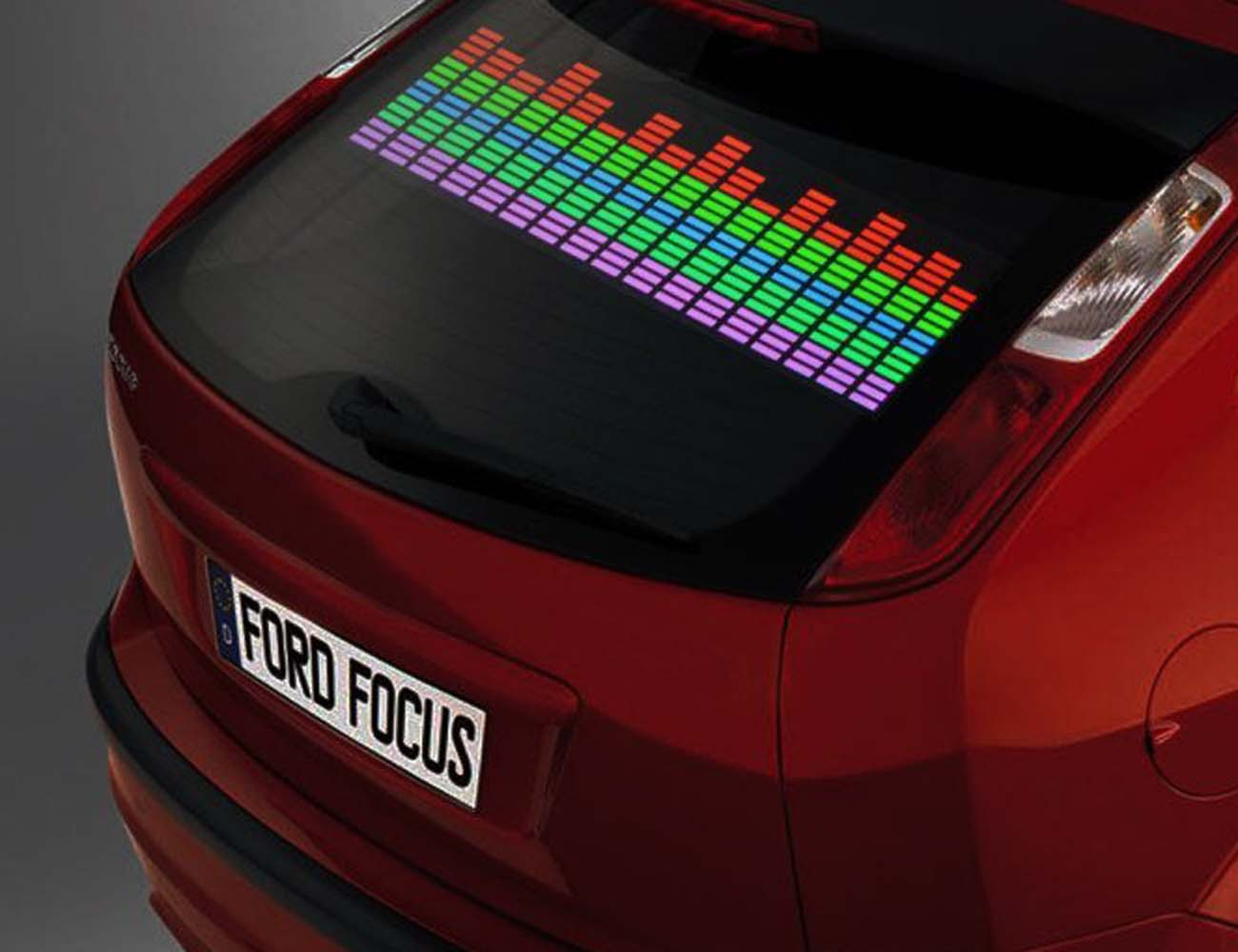 Sound Activated Car Stickers From AGPtek