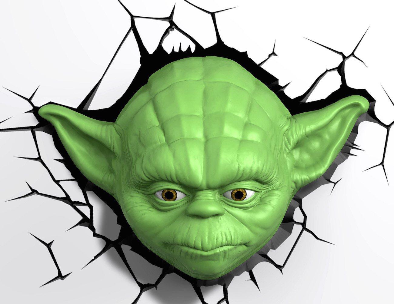 Star Wars Yoda 3D Deco Light